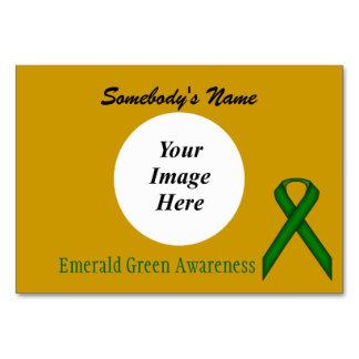 Emerald Green Stnd Ribbon Tmpl by Kenneth Yoncich Card