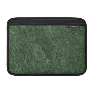 Emerald Green Stone Pattern Background MacBook Air Sleeves