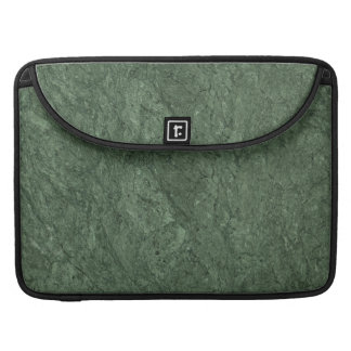 Emerald Green Stone Pattern Background MacBook Pro Sleeves