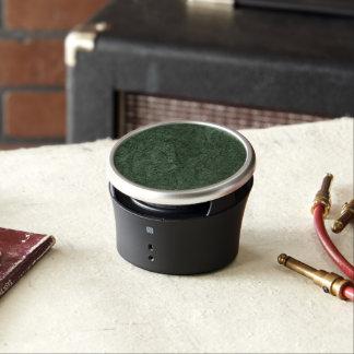 Emerald Green Stone Pattern Background Speaker