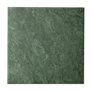 Emerald Green Stone Pattern Background Tile