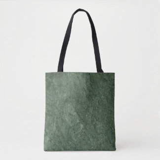 Emerald Green Stone Pattern Background Tote Bag