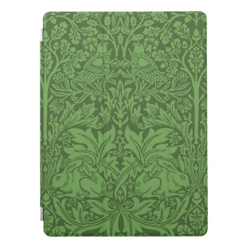 Emerald Green vintage pattern iPad Pro Cover