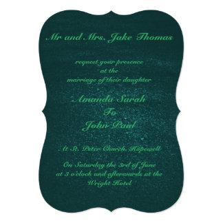 Emerald Green Wedding Invitations