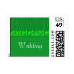 Emerald Green Wedding Postage
