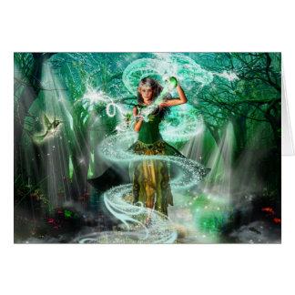 Emerald Guardian Card