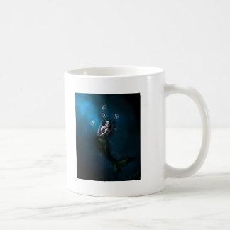Emerald in the Deep Blue Coffee Mug