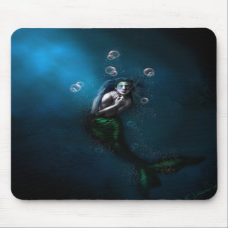 Emerald in the Deep Blue Mousepad