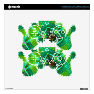 Emerald Island Decal For PS3 Controller