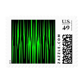 EMERALD ISLE (an abstract art design) ~.jpg Postage
