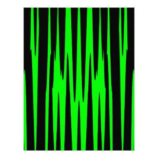 EMERALD ISLE (an abstract art design) ~ Letterhead