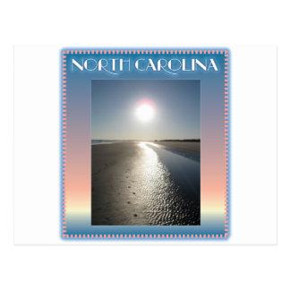 Emerald Isle Beach, NC at Sunset Postcard