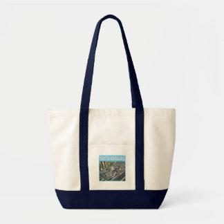 Emerald Isle Beach Seashell Collection Tote Bag