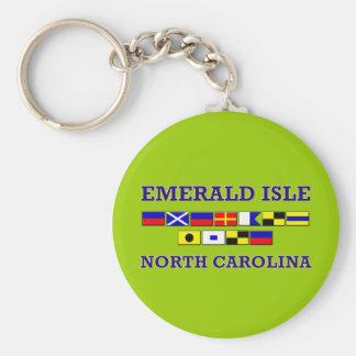 Emerald Isle Keychain
