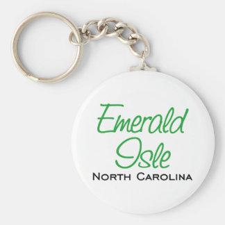 Emerald Isle, NC Keychain