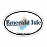 Emerald Isle. Photo Cutout