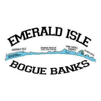 Emerald Isle. Acrylic Cut Out