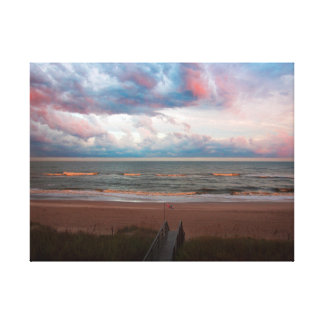 Emerald Isle Sunset Canvas Print