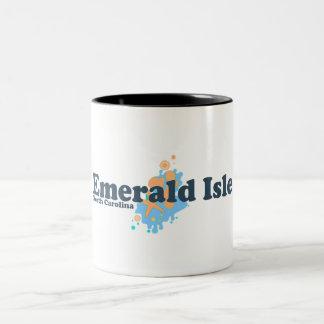 Emerald Isle. Tazas