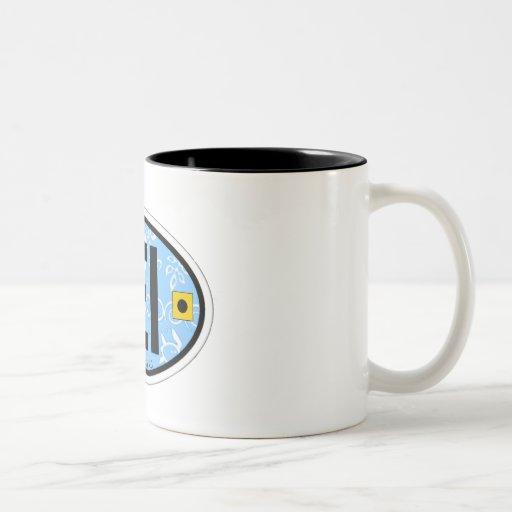 Emerald Isle. Two-Tone Coffee Mug
