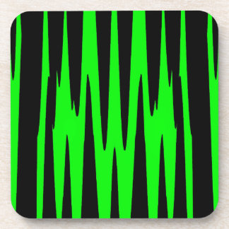 EMERALD ISLE wrap (an abstract art design) ~ Coaster