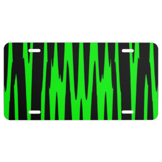 EMERALD ISLE wrap (an abstract art design) ~ License Plate