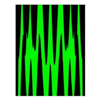 EMERALD ISLE wrap (an abstract art design) ~ Postcard
