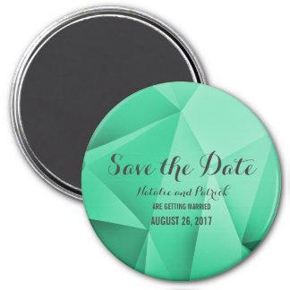 Emerald Jewel Tones Save the Date Magnet