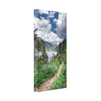 Emerald Lake 3 - Weminuche Wilderness - Colorado Canvas Print