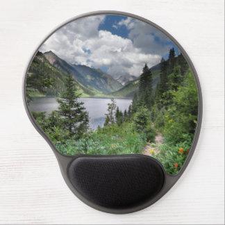 Emerald Lake 3 - Weminuche Wilderness - Colorado Gel Mouse Pad