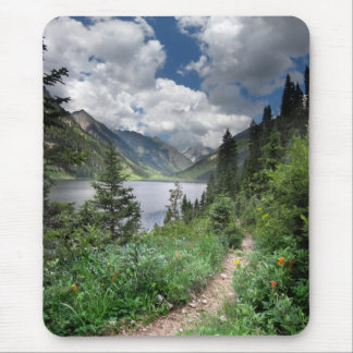 Emerald Lake 3 - Weminuche Wilderness - Colorado Mouse Pad