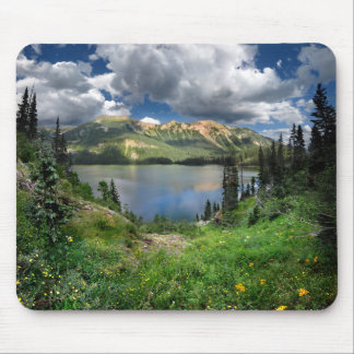 Emerald Lake 4 - Weminuche Wilderness - Colorado Mouse Pad