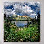 Emerald Lake 4 - Weminuche Wilderness - Colorado Poster