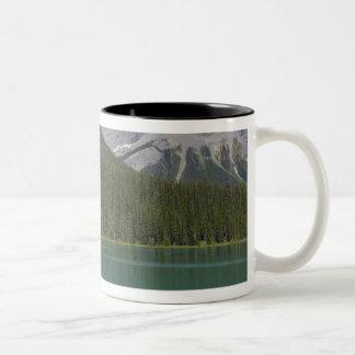 Emerald Lake, Canadian Rockies, British Two-Tone Coffee Mug
