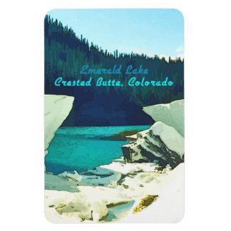Emerald Lake ~ Crested Butte, Colorado Magnet