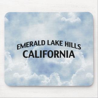 Emerald Lake Hills California Mouse Pad