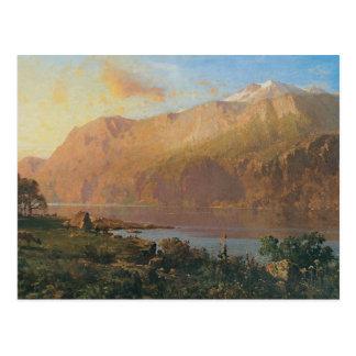 Emerald Lake Near Tahoe Postcard