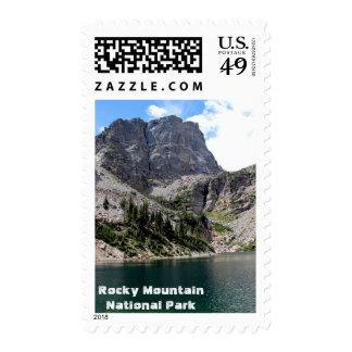 Emerald Lake Postage Stamp
