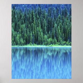 Emerald Lake, Yoho NP, BC, Canada Poster