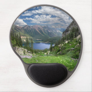 Emerald Lakes 2 - Weminuche Wilderness - Colorado Gel Mouse Pad