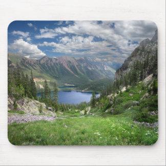 Emerald Lakes 2 - Weminuche Wilderness - Colorado Mouse Pad