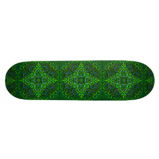 Emerald Mandala Skateboard