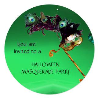 EMERALD MASQUERADE PARTY, Green Orange Card