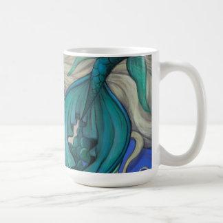 """Emerald Mermaid"" Cup Mug"