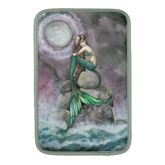 Emerald Mermaid Fantasy Art MacBook Sleeve