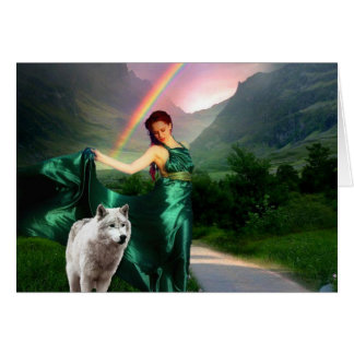 Emerald Mists Card