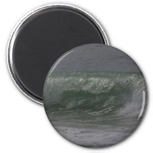 Emerald Oregon Surf 2 Inch Round Magnet