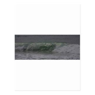 Emerald Oregon Surf Postcard