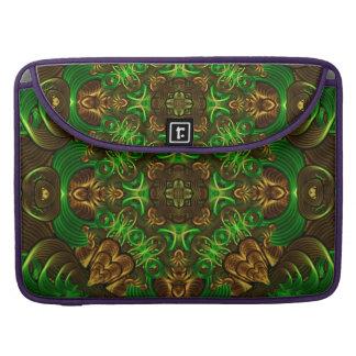 Emerald Path Mandala Sleeve For MacBook Pro