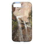 Emerald Pool Falls I from Zion National Park iPhone 7 Case